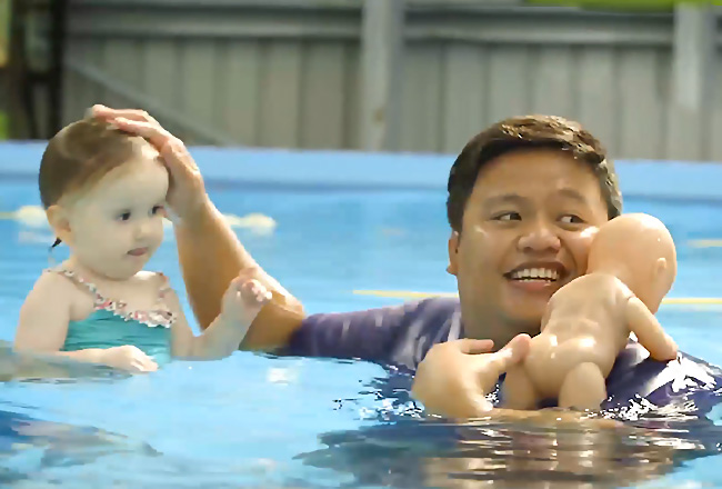 Babies Swim Lesson - Fulton Swim School