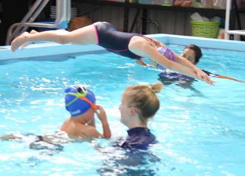 Fulton Swim School Lesson - Diving