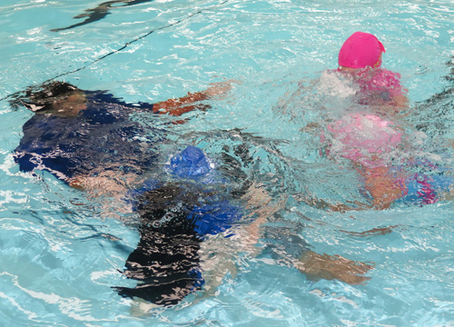 Preschool Swimming Lesson - Underwater
