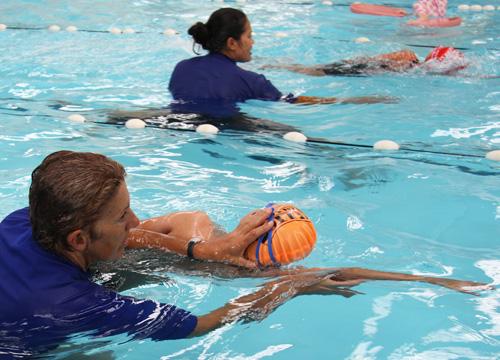 Fulton Swim School Lesson