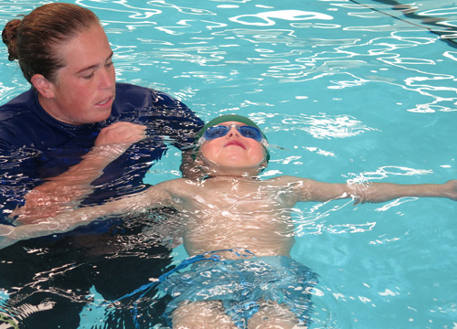 Preschool Swimming Lesson - Floating
